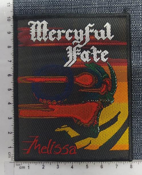 MERCYFUL FATE - MELISSA WOVEN PATCH