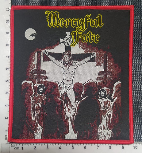 MERCYFUL FATE - EP WOVEN PATCH