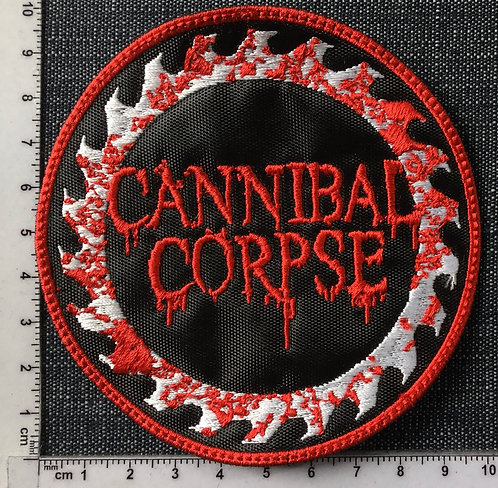 CANNIBAL CORPSE - CIRCLE EMBROIDERED PATCH
