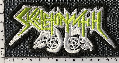 SKELETONWITCH - LOGO EMBROIDERED PATCH