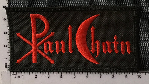 PAUL CHAIN - LOGO EMBROIDERED PATCH