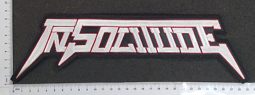 IN SOLITUDE - LOGO EMBROIDERED BACKPATCH