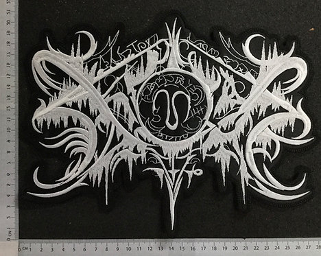 XASTHUR - EMBROIDERED BACK PATCH