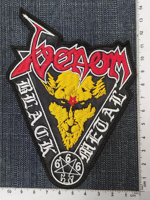 VENOM - BLACK METAL 666 EMBROIDERED PATCH