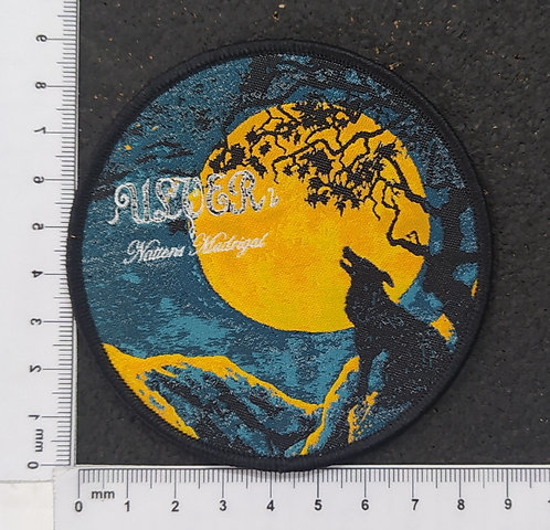 ULVER - NATTENS MADRIGAL WOVEN PATCH