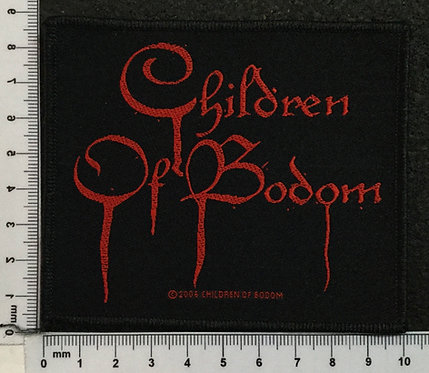 CHILDREN OF BODOM - LOGO WOVEN PATCH