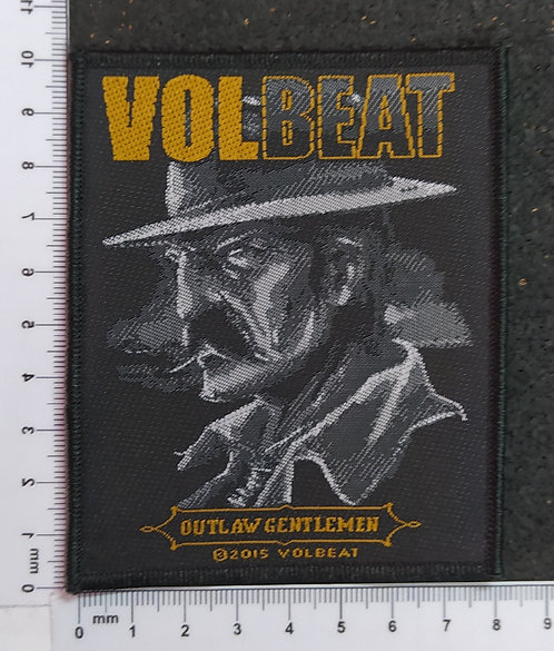 VOLBEAT - OUTLAW GENTLEMEN WOVEN PATCH