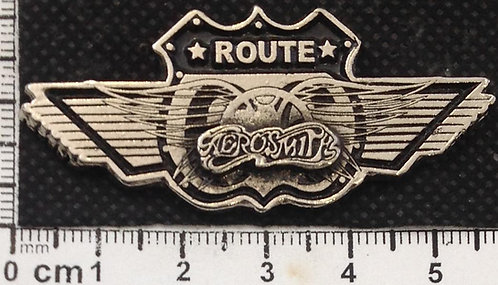 AEROSMITH ROUTE - LOGO  Metal Pin