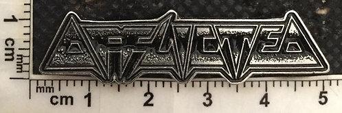 AFFLICTED Logo Metal Pin