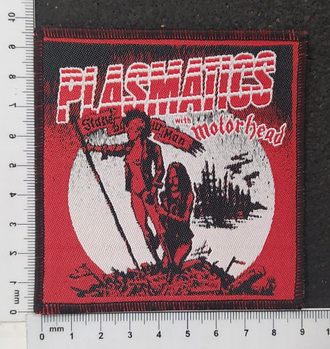 PLASMATICS - STAND BY UR MAN WOVEN PATCH