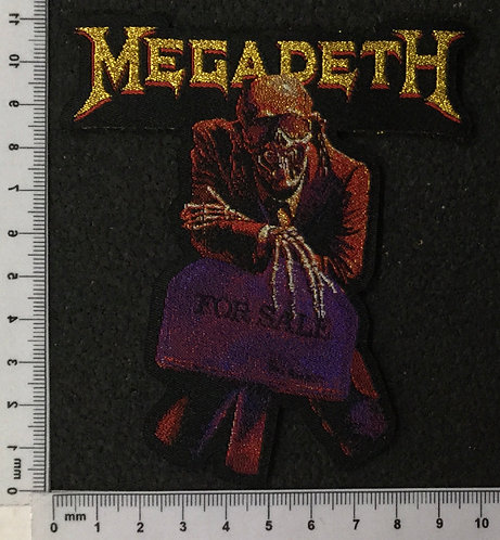 MEGADETH - PEACE SELLS... WOVEN PATCH