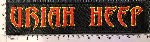URIAH HEEP - LOGO EMBROIDERED PATCH