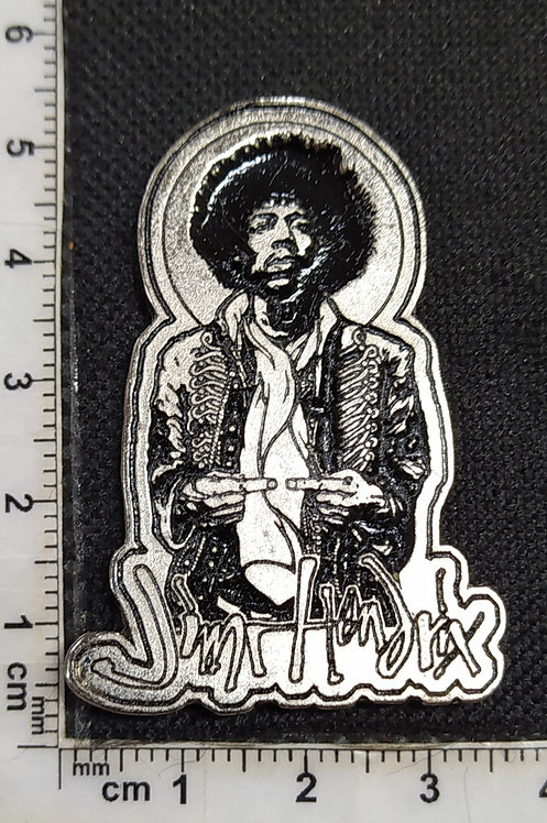 JIMI HENDRIX - METAL PIN