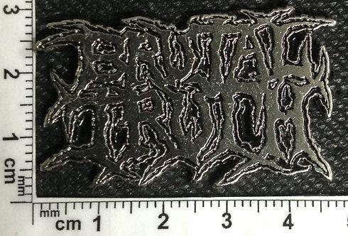 BRUTAL TRUTH - LOGO   Metal Pin