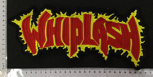 WHIPLASH  - LOGO EMBROIDERED BACK PATCH
