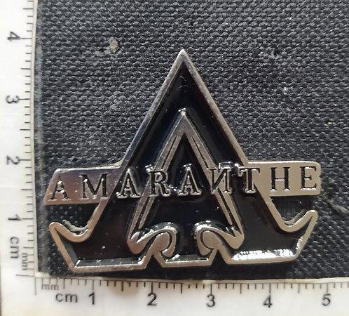 AMARANTHE LOGO METAL PIN
