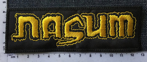 NASUM - LOGO EMBROIDERED PATCH