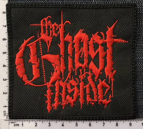 THE GHOST INSIDE - LOGO EMBROIDERED PATCH