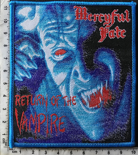 MERCYFUL FATE - RETURN OF THE VAMPIRE WOVEN PATCH