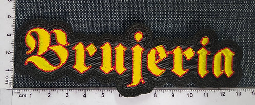BRUJERIA - LOGO EMBROIDERED PATCH