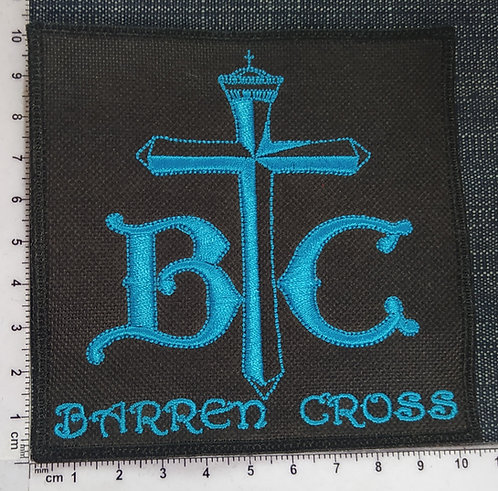 BARREN CROSS - EMBROIDERED PATCH