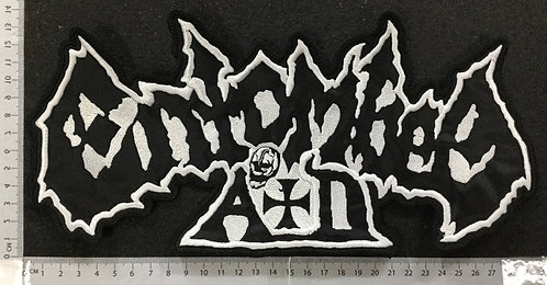 ENTOMBED AID -  LOGO EMBROIDERED BACK PATCH