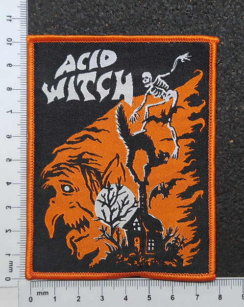 ACID WITCH - EVERYDAY IS HALLOWEEN WOVEN PATCH