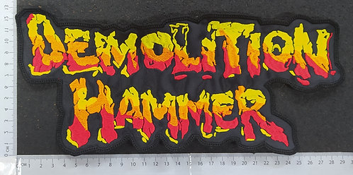 DEMOLITION HAMMER - SHAPE LOGO BACK PATCH