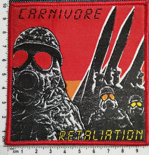 CARNIVORE - Retaliation Woven Patch
