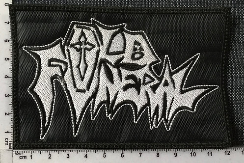 OLD FUNERAL - LOGO EMBROIDERED PATCH