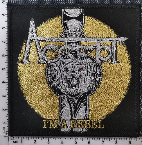 ACCEPT- I'm a Rebel Woven patch