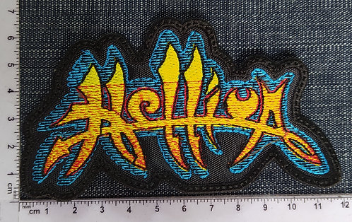 HELLIUM - LOGO SHAPE EMBROIDERED PATCH