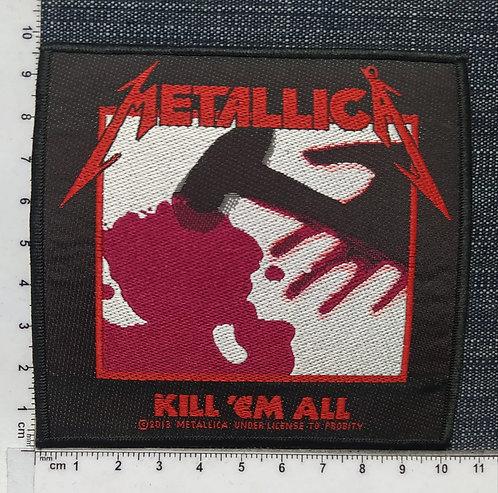 METALLICA - KILL ´EM ALL WOVEN PATCH
