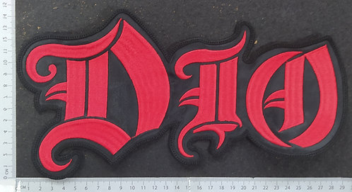 DIO - LOGO EMBROIDERED BACK PATCH