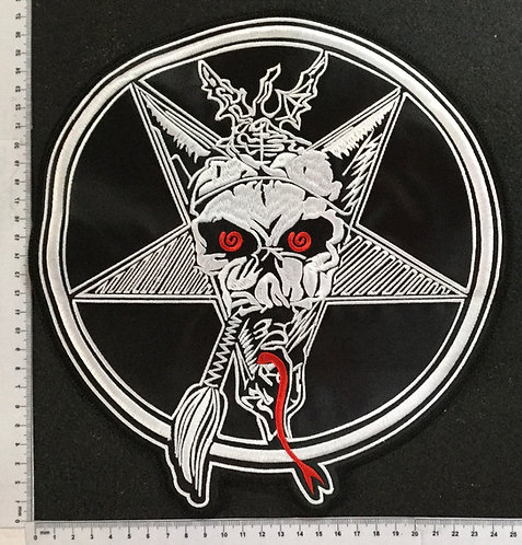 TESTAMENT - THE LEGACY EMBROIDERED BACKPATCH