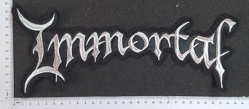 IMMORTAL - LOGO EMBROIDERED BACKPATCH
