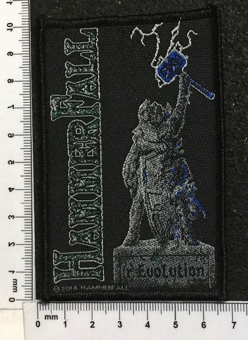 HAMMERFALL - REBELS WITH A CAUSE WOVEN PATCH