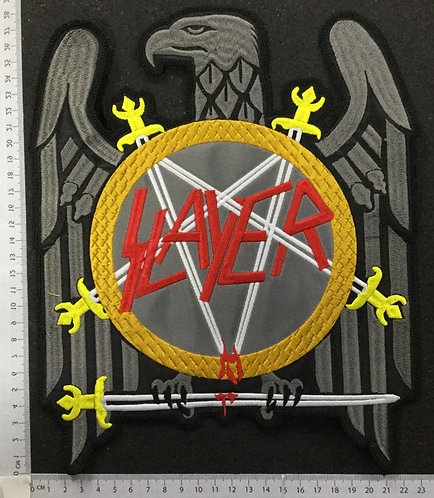 SLAYER - EAGLE EMBROIDERED PATCH