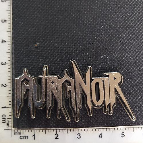 AURA NOIR - 3D LOGO METAL PIN