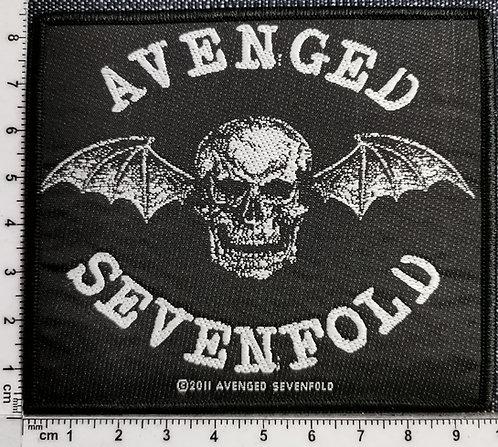 AVENGED SEVENFOLD - Death bat  Woven Patch