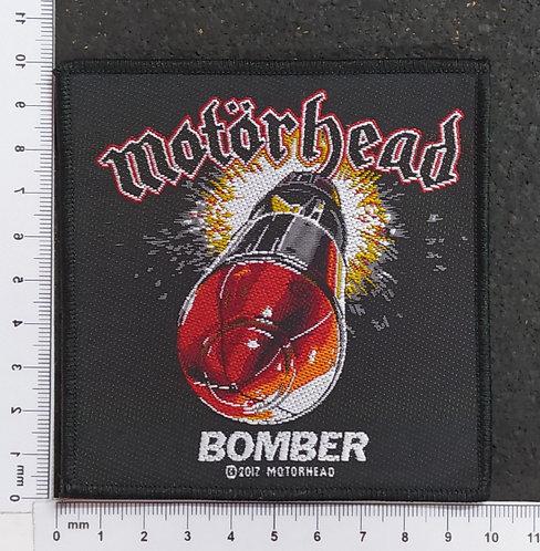 MOTORHEAD - BOMBER WOVEN PATCH