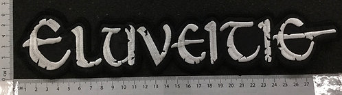 ELUVEITIE -  LOGO EMBROIDERED BACK PATCH