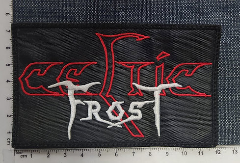 CELTIC FROST - LOGO RECTANGLE EMBROIDERED PATCH