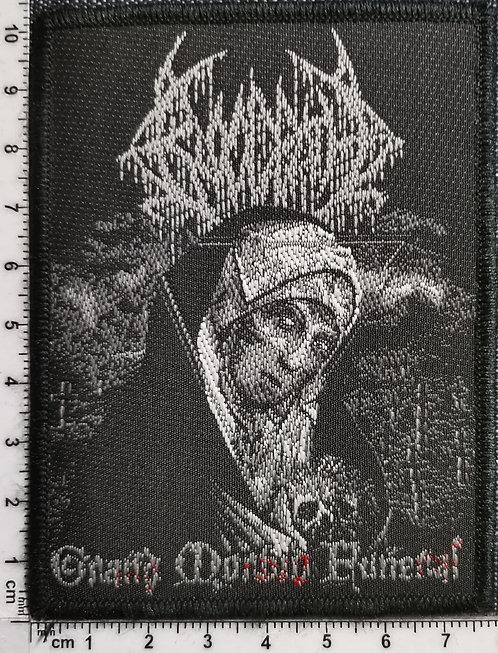BLOODBATH - Grand Morbid Funeral Woven Patch