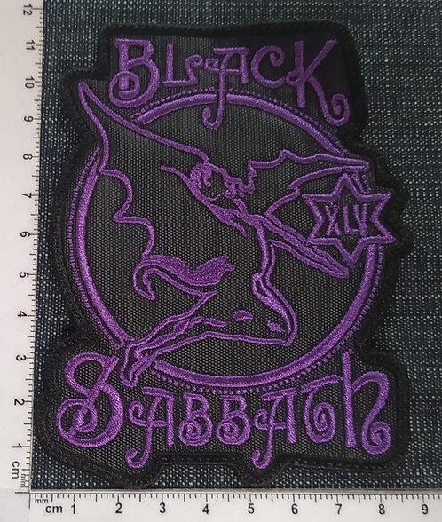 BLACK SABBATH - 45 EMBROIDERED PATCH