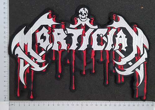 MORTICIAN  - LOGO EMBROIDERED BACK PATCH