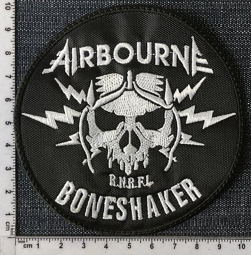 AIRBOURNE - BONES SHAKER EMBROIDERED PATCH