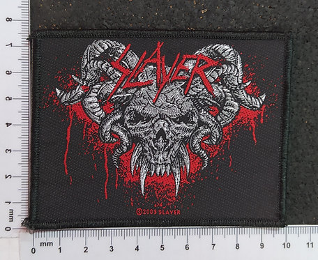 SLAYER - DEMONIC WOVEN PATCH