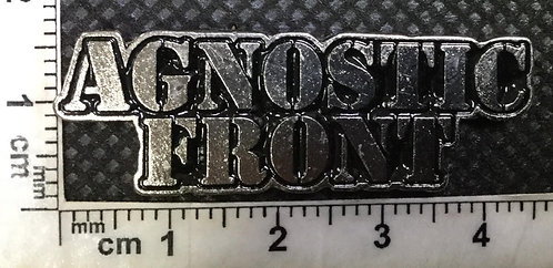 AGNOSTIC FRONT LOGO Metal pin