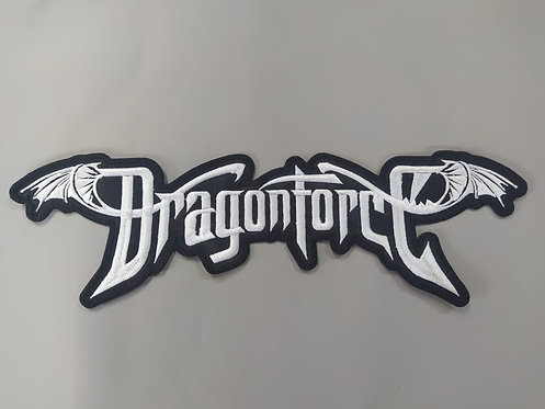 DRAGON FORCE - EMBROIDERED BACK PATCH